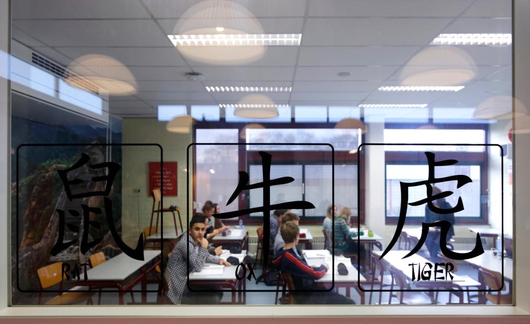 Vo Raad/Magazine, In Praktijk, Kandinsky College, Chinees, Nijmegen, 8 1 2014